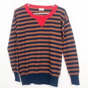Wallace Madewell V Neck Merino Wool Sweater